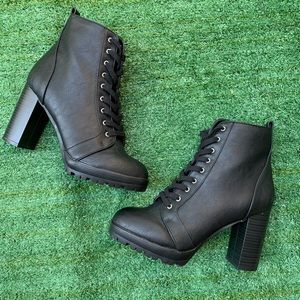 ASOS Lace Up Ankle Boot